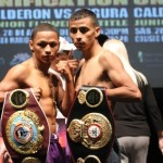 Calderon, Segura make weight
