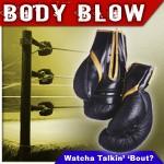 BODY BLOW #146: COJONES