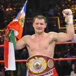 Zsolt Erdei looks to stay sharp against Byron Mitchell