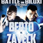 Andre Berto returns to challenge Slovenia's Jan Zaveck for IBF welterweight title