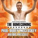 McCloskey-Prescott in WBA title eliminator in Ireland, Saturday September 10