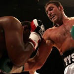 Tyson Fury in action against Nicolai Firtha on Saturday September 17