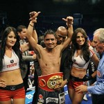 Guerrero Scores Technical Decision Over Martinez, Wins IBF Title