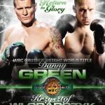Green Seeks Validation, Redemption Against WBC Champ, Wlodarczyk this Wednesday