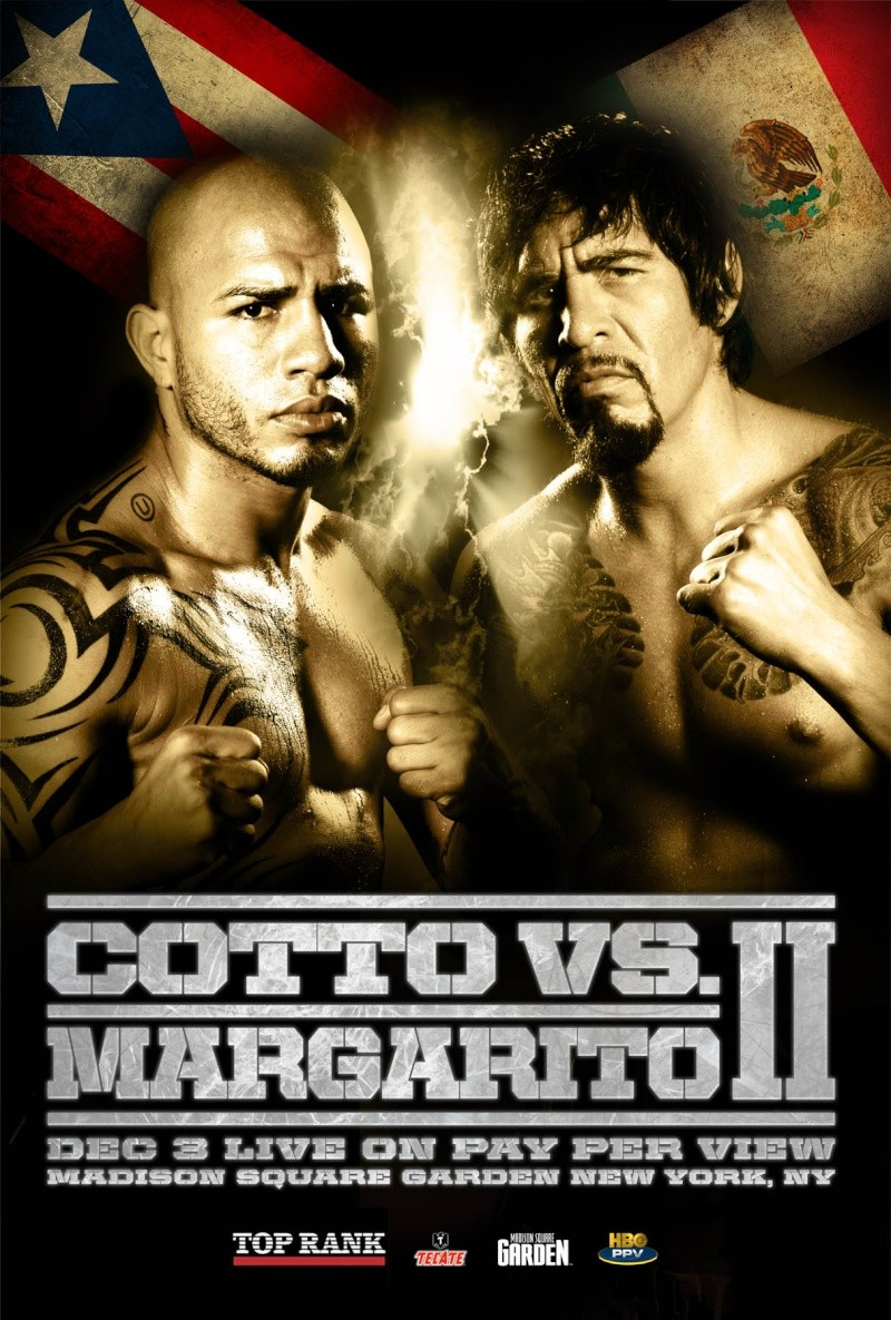 cotto-margarito fight poster