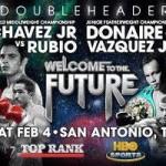 Julio Cesar Chavez Jr. & Marco Antonio Rubio Headline HBO Boxing, Saturday February 4th