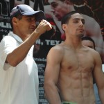 Photo Gallery: Morales-Garcia Weigh-In