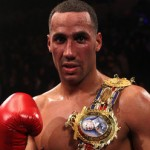 European Champion James DeGale in Action Saturday Night