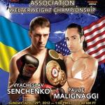 Senchenko And Malignaggi Contest WBA 147 Pound Title Sunday in the Ukraine