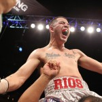 Brandon Rios and Richard Abril vie for a WBA lightweight belt
