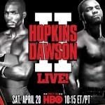 Dawson handles Hopkins over twelve, Mitchell stops Witherspoon in three round thriller