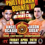Ocasio vs. Sosa Rematch Headlines Armory Card in Philly