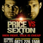 Price vs. Sexton for British Heavy Title Saturday Night in Liverpool, UK