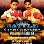 "Viloria vs. Romero headlines ""Island Assault"" PPV card"