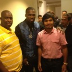 Pacquiao, Mayweather, 50 Cent, Hatton, and Chavez Jr. in The Sunday Brunch