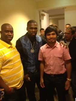 50cent and Pacquiao