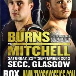 Ricky Burns And Kevin Mitchell Cross Swords Saturday Night in Glasgow, Scotland