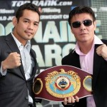Arce enters the arena against Donaire