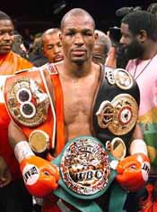 Boxen Bernard Hopkins