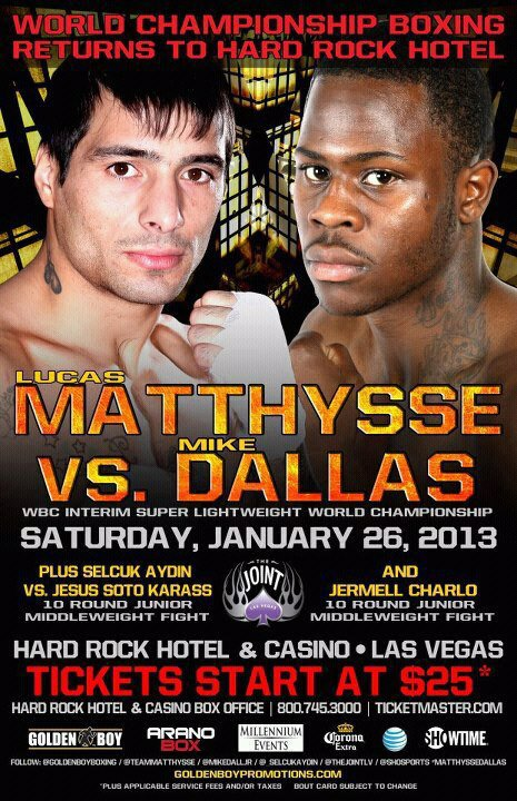 Matthysse vs Dallas