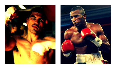 Angulo(L) Vs. Lara(R) clash on June 8th.