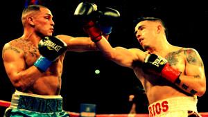 Mike Alvarado(L), Brandon Rios(R)