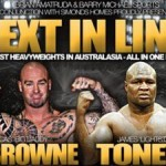 """Lights Out"" Down Under: Toney, Johnson Headline Melbourne Show This Sunday"