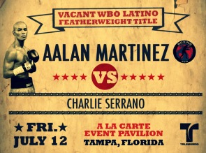 Aalan Martinez returns July 12th.