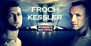 Froch(L), Kessler(R) will go to war tomorrow night for a second time.