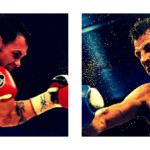 Geale(L), Barker(R) clash on August 17th for IBF Middleweight title.