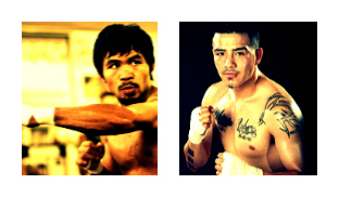 Pacquiao(L), Rios(R) Clash November 24th In Macau, China.