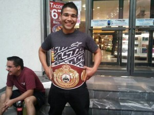 jose ramirez with belt