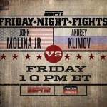 John Molina Vs. Andrey Klimov  Headlines This Week's Friday Night Fights Card