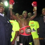 Classy Commey Sets Up Commonwealth Title Shot