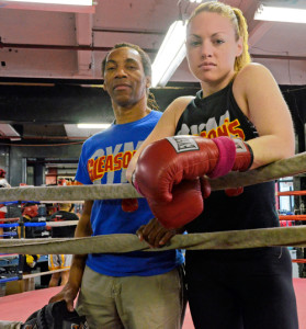 Heather Hardy and Devon Cormack - courtesy of Elizabeth Graham