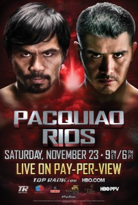 Pacquiao vs Rios Poster end