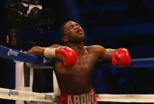 adrien broner low blow end