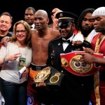 Bernard Hopkins Schools Beibut Shumenov…Don't Tangle With An Alien.