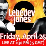 Jones-Lebedev II Off, Jones Fails Drug Test