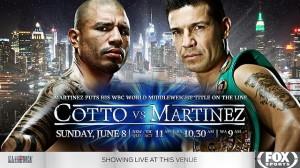 cotto-martinez fight poster