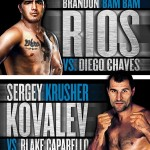 Kovalev Steamrolls Caparello, Rios Takes DQ Over Chaves