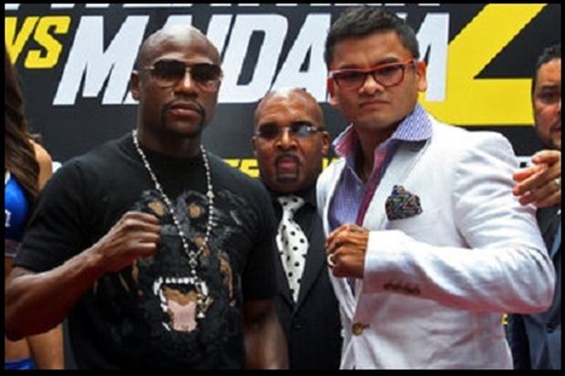 Boxing: Mayweather vs Maidana-Press Conference