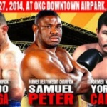 "Opponents Named for ""Rumble on the River"" Headliners"
