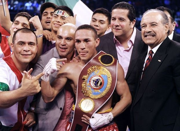 juan francisco estrada with belt