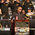 Video: Mayweather-Maidana II Post-Fight Press Conference