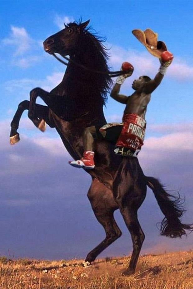 meme broner horseback