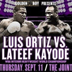 Ortiz-Kayode, Juanma, Josesito, and Charlo on GBP Fox Sports 1 Thursday Card