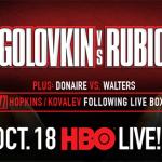 Foregone Conclusions: Golovkin vs. Rubio