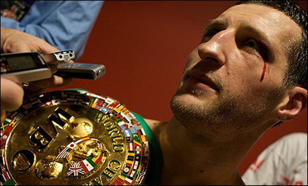 carl froch blood