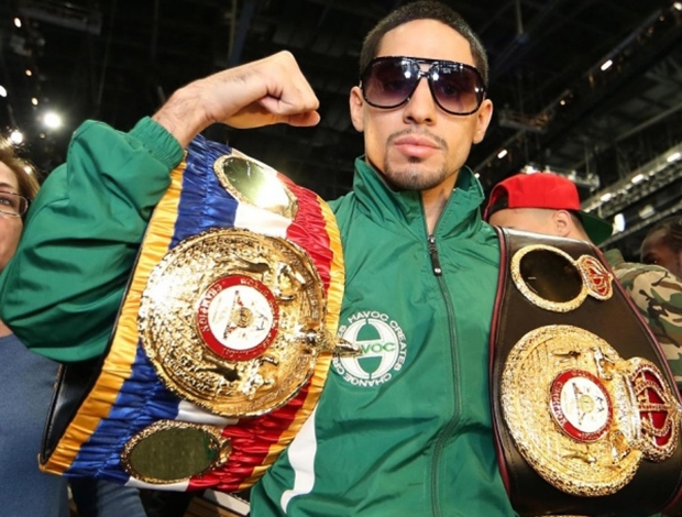 danny garcia with belts